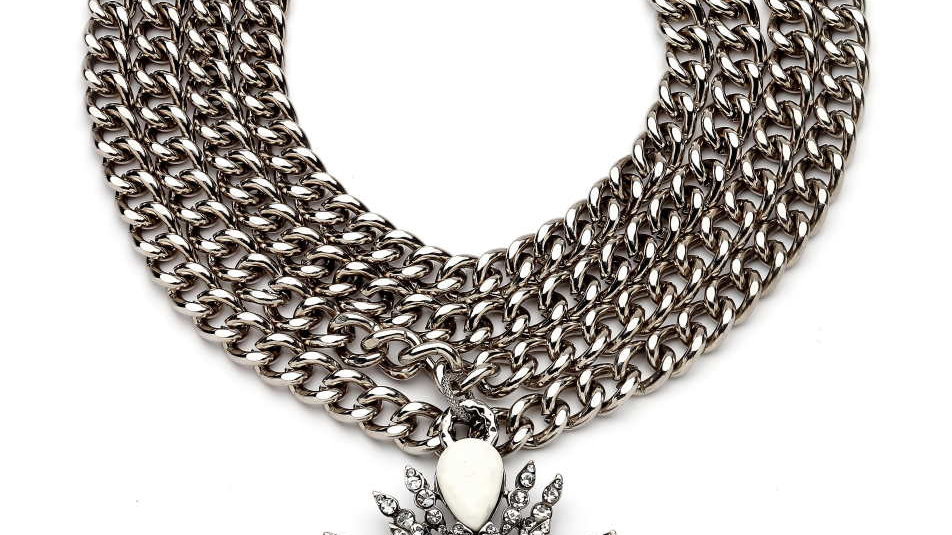 MonReve Snow Star Silver Necklace