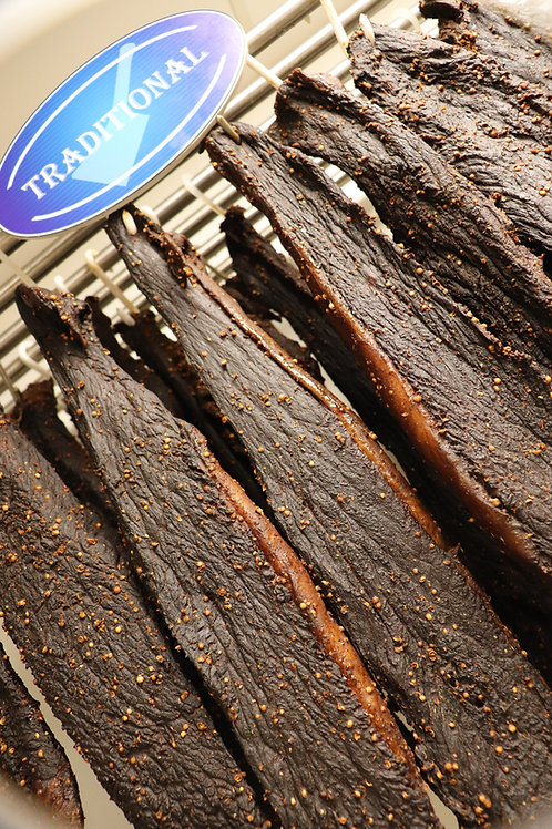 Traditional Beef Biltong  500g Whole Stick