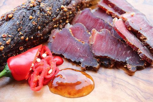 Chilli Chutney Beef Biltong 500g Sliced