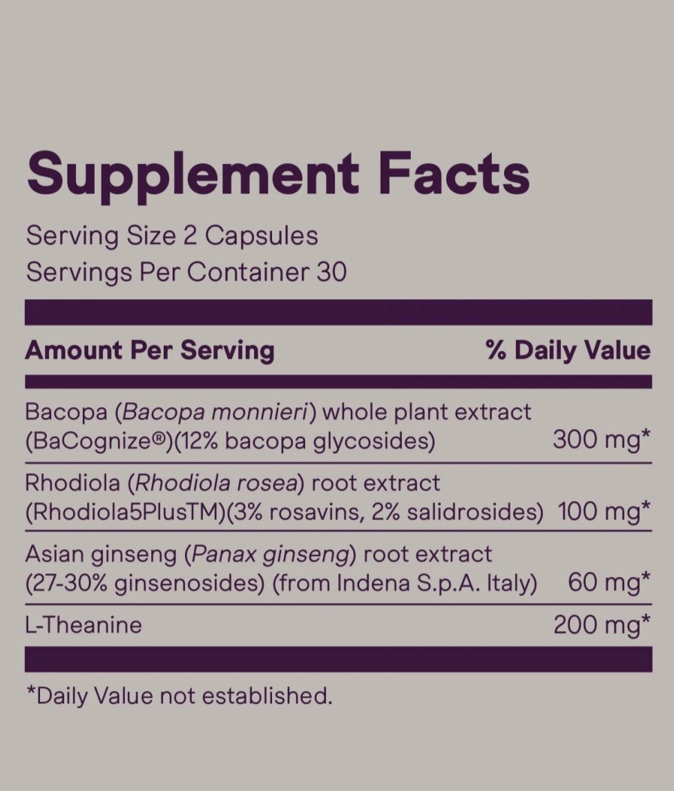 plato supplement facts