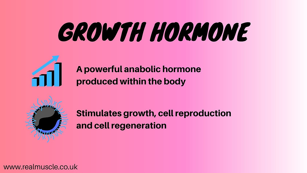 growth hormone infographic