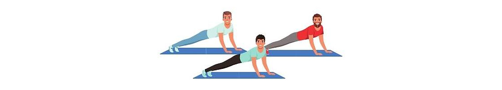 make the plank easier