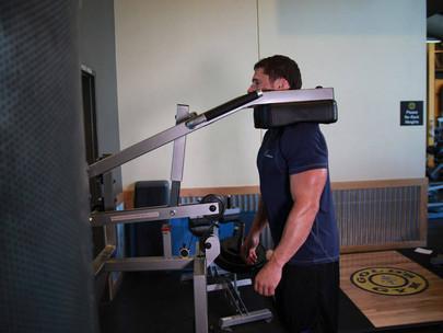 Calf-Machine Shrug   An Alternative Machine Workout For Traps