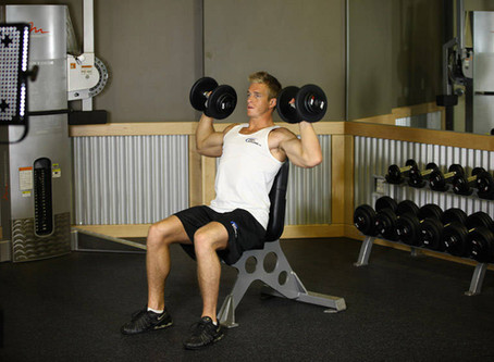 How To Do The Dumbbell Shoulder Press [Exercise Guide]