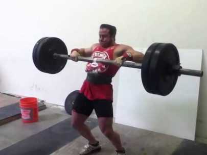 The Axle Clean & Press Strongman Exercise [Step-by-Step]