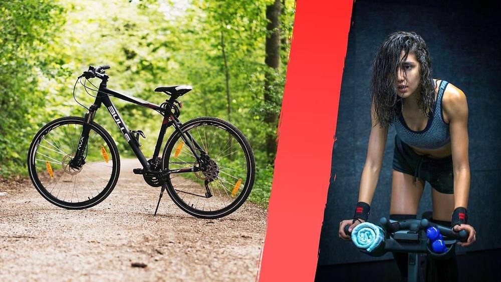 indoor vs outdoor cycling
