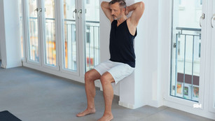 How to Do the Wall Sit (Step-by-Step)