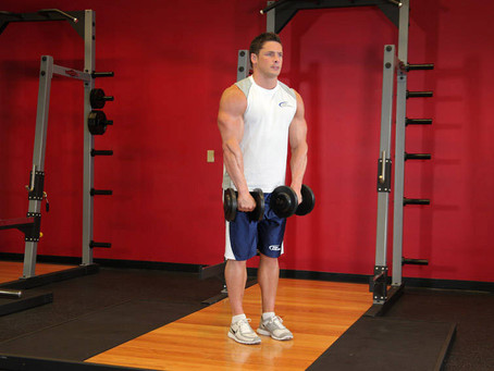 How To Do The Dumbbell Front Raise [Exercise Guide with Photos]