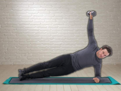 Side Plank Lateral Raise Exercise Guide (Step-by-Step)