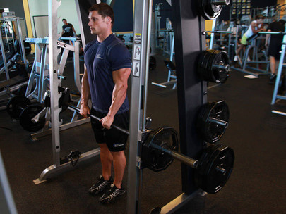 The Upright Row   A Great Shoulder & Trap Exercise