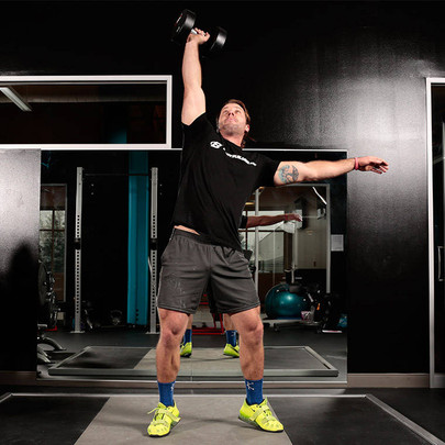 The Dumbbell Clean & Jerk Guide   A Great Shoulder Exercise To Improve Strength & Power
