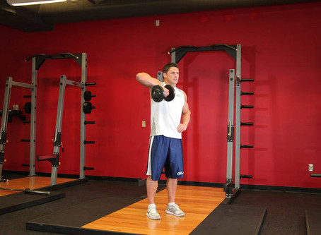 How To Do The Single Arm Upright Row [Exercise Guide]