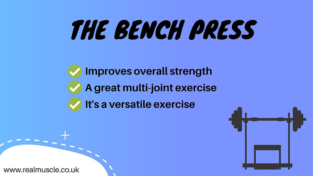 how to increase your bench press infographic