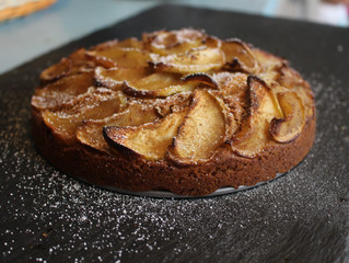 Spiced Apple Tea Cake