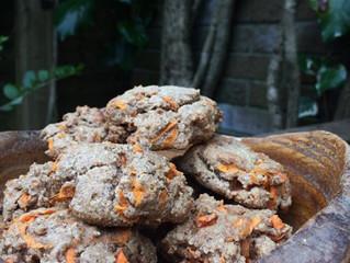 Chunky carrot cake cookies