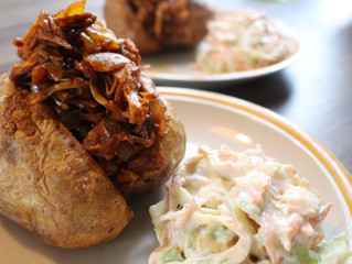 Jack Fruit 'Pulled Pork'