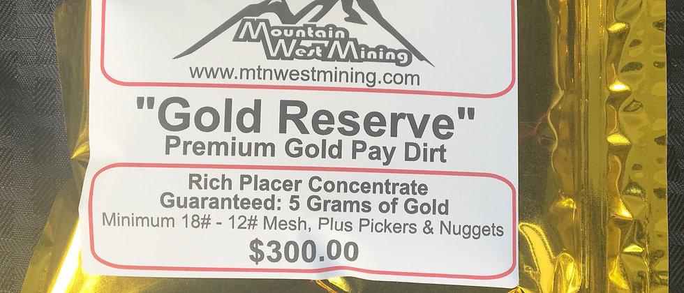 GR5  Premium Gold Pay Dirt - 5 Grams