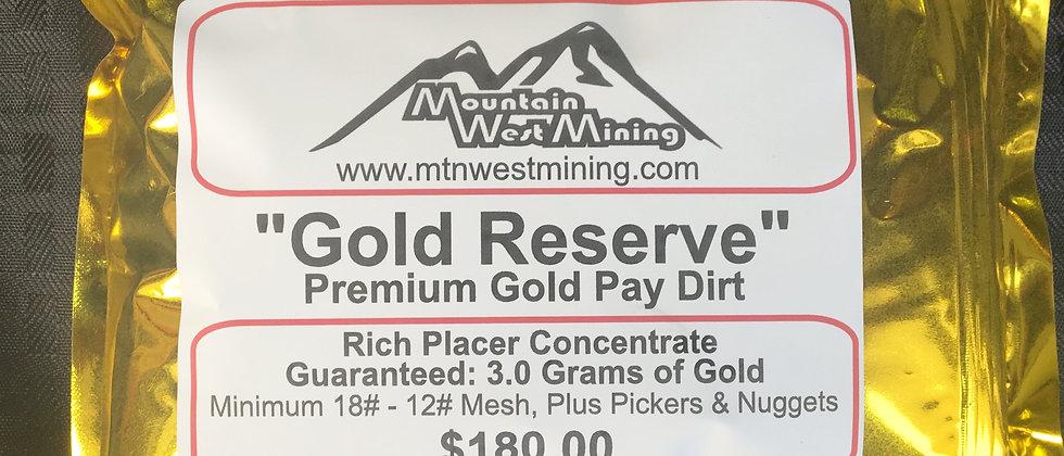 Premium Gold PayDirt 3 Grams
