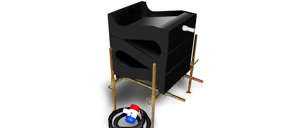 GC3  Gold Cube - Deluxe 3 Stack Recovery System with 12 Volt Pump