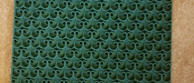 Gold Cube  Cape D Mat