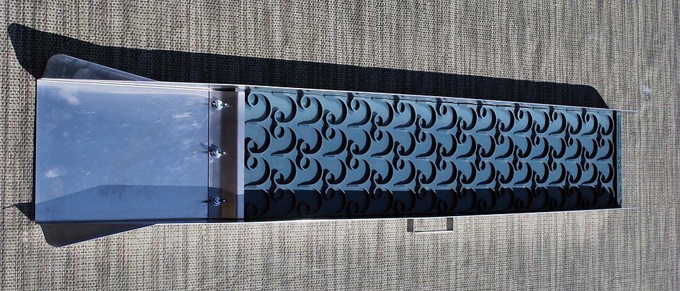 """DS6  8"""" x 48"""" Dream Sluice with Vortex Dream Mat"""