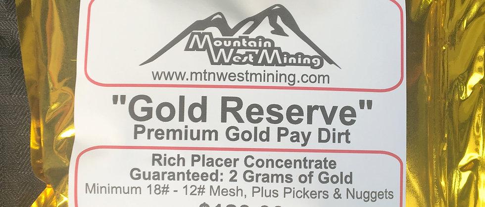 GR3  Premium Gold Pay Dirt - 2 Grams +