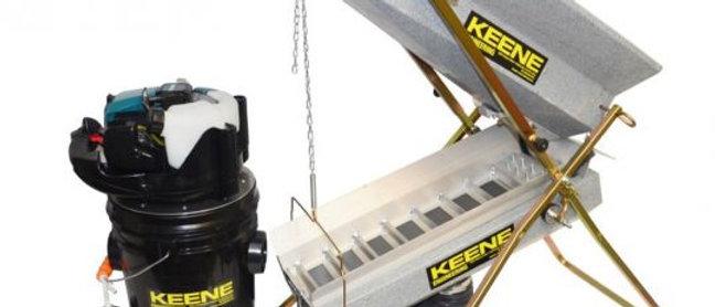 Keene Dry Washer Hi Vac Complete System  Model 140DSHVS