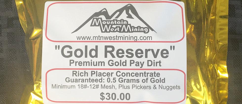 Premium Gold PayDirt 1/2 Gram