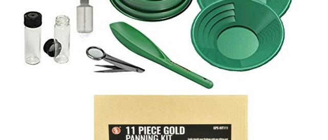 11 Pc Gold Panning Kit