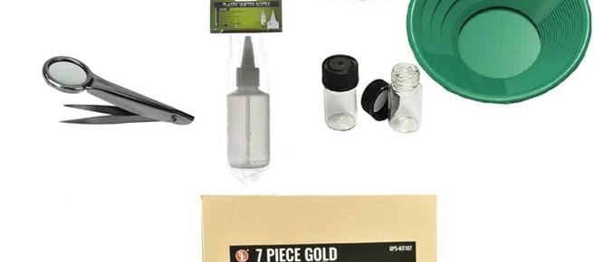 7 Pc Gold Panning Set
