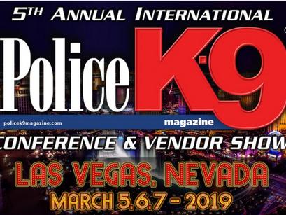 Police K9 Conference in Las Vegas