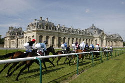 course chevaux chantilly