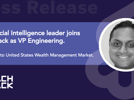 ReachStack names AI leader new VP Engineering as focus shifts to US Wealth market.