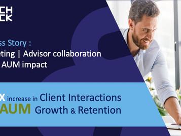 Success Story : Marketing | Advisor collaboration drives AUM impact