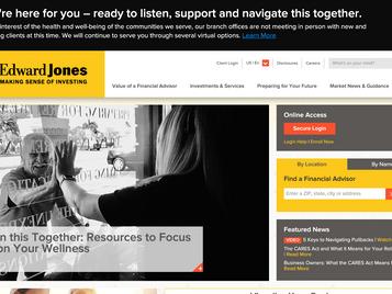 Edwards Jones Example - Crisis Messaging Best Practice