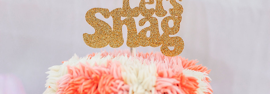 Shag Cake for Two