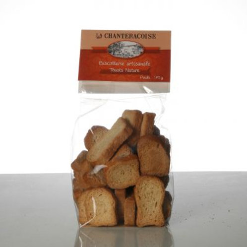 Toasts natures 140 gr