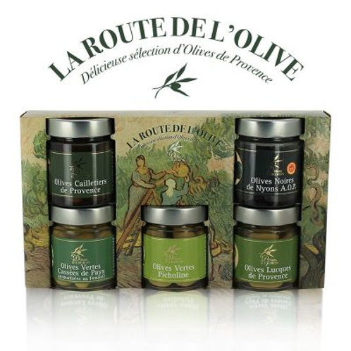 Coffret La Route de L'Olive