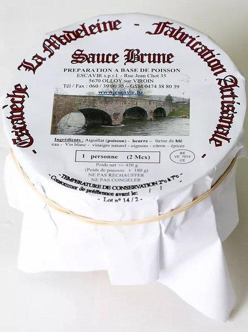 Escavèche 'la Madeleine' sauce brune