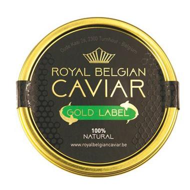 Royal belgian caviar gold label-caviar-plaisir
