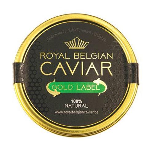 Belgian caviar - Baeri Gold Label