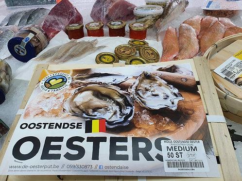 poissonnerie-écailler-traiteur- plateaux de fruits de mer- huîtres- crustacés-la-passion du gout-huîtres-ostendaise