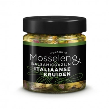 Moules Herbes Italiennes 110 gr