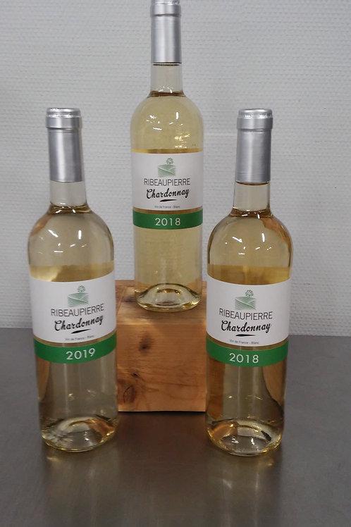Vin blanc chardonnay