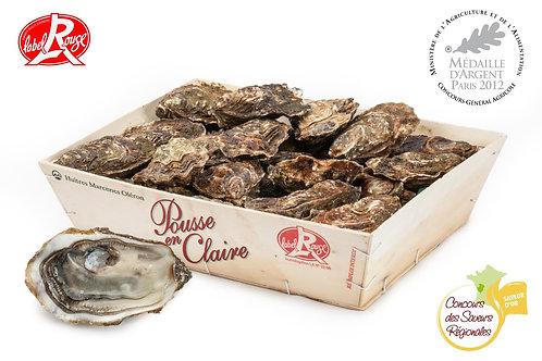 poissonnerie-écailler-traiteur- plateaux de fruits de mer- huîtres- crustacés-la-passion du gout-huîtres-pousse en claires