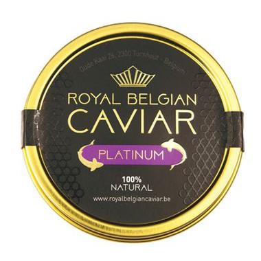 Royal belgian caviar platinum-caviar-plaisir