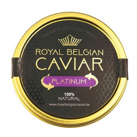 caviar plaisir boutique en ligne ligne de caviar livraison belgique luxembourg royal belgian caviar platinum