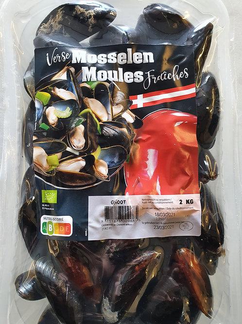 Moules du Danemark par 2 kg
