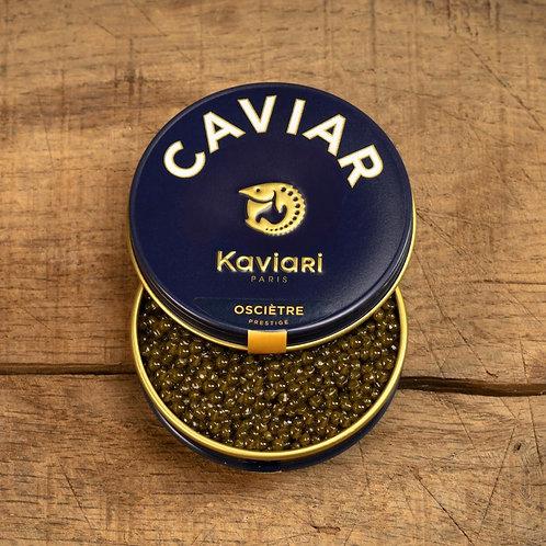 Caviar osciètre prestige kaviari