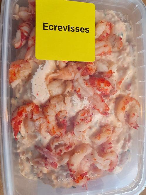 Salade écrevisses mayonnaise 350 gr